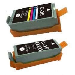 Tusz PGI35 CLI36 do Canon -...